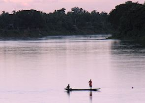 Late in the day, central Laos