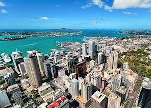 Auckland from the Sky Tower
