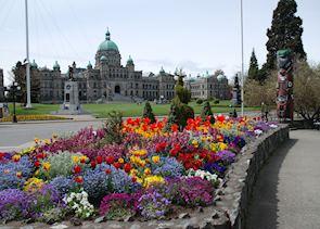 Parliament Buildings, Victoria, British Columbia