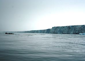 Ice Cliff on Nordaustlandet, Svalbard