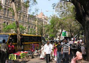 Street scene, Mumbai