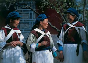 Local women, Lijang