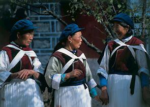 Local women, Lijang
