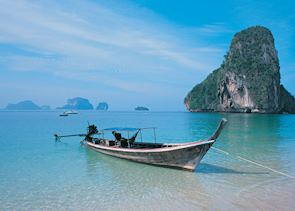 Limestone islands around Krabi, Thailand