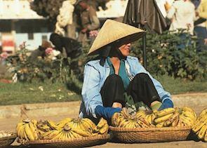 Street vendor, Dalat, Vietnam