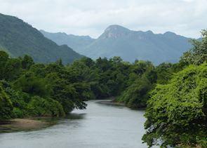 Scenery around Kanchanaburi