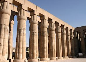 Court of Amenophis III, Luxor temple