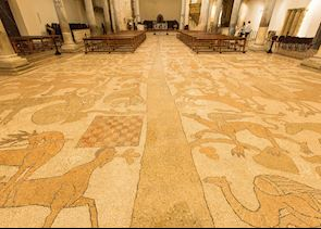 Cathedral floor, Otranto