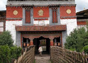 Jampa Lhakhang. Bumthang valley