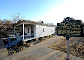 Elvis Presley's birthplace, Tupelo