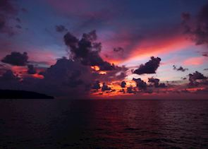 Sunset Cruise from Gaya Island Resort
