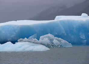 San Rafael Galcier Icebergs, Aisen