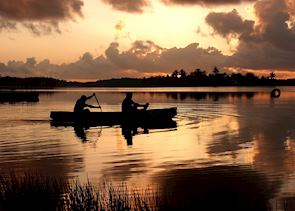 Canoeing, Lamanai Outpost, Belize