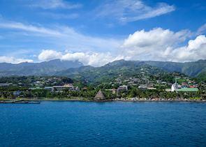 Coastline, Tahiti, French Polynesia