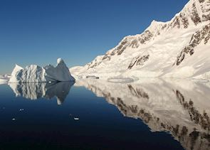 Mirror reflections, Antarctica