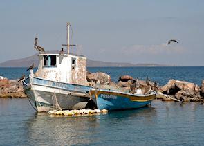 fishing boat, Loreto, Sea of Cortez