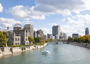 Dome and river, Hiroshima
