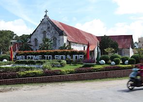Siquijor main town - Catholic Church
