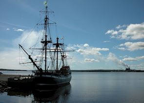 The Hector Tall Ship, Pictou