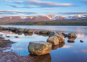 Loch Morlich, the Cairngorms National Park