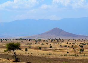 Landscape west of Arusha