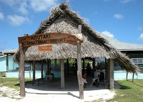 Aitutaki 'international' airport