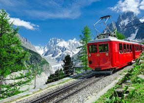 Train to the Mer de Glace, Chamonix