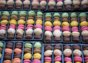 Macarons, France