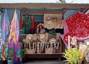 Local market stall, Rarotonga