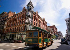 Downtown Trolleybus, Providence, Rhode Island