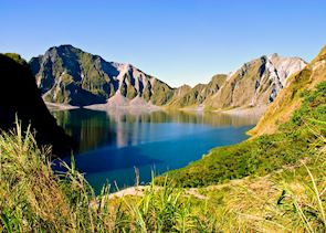 Cater lake of Mount Pinatubo
