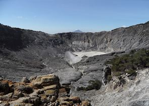 Tangkuban Pahahu Volcano