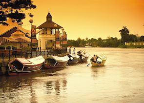 Sunset in Kuching, Sarawak