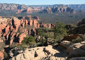 View from Bear Mountain Trail, Sedona