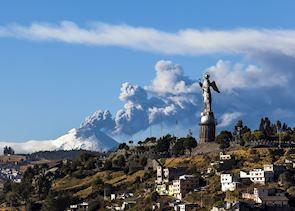 Panecillo Hill & Cotopaxi Volcano, Quito