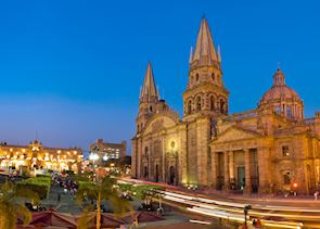 Guadalajara by night