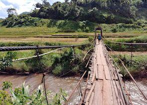 Trekking towards an Akha Village, Phongsaly