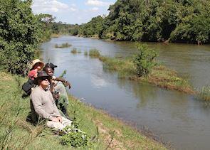 The Bua River, Nkhotakota Wildlife Reserve