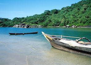 Local fishing boats, Goa
