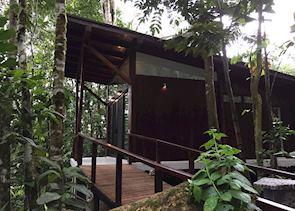 New cabin at Minga Lodge