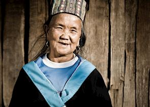 Lady in Doi Angkhang, Thailand