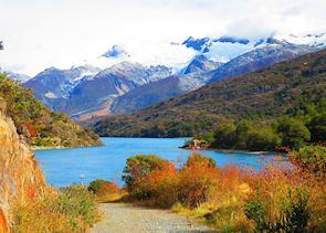 Scenery around Lago General Carrera, Aisen