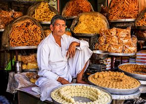 Street food seller, Jaipur