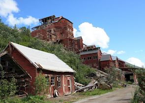Kennicott Mine near  McCarthy