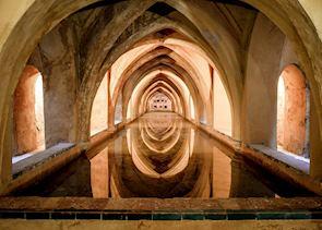 Baths of the Alcázar, Seville