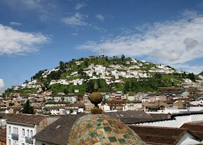 El Panecillo Hill and the Virgin of Quito