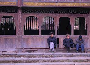 Village residents near Zhaoxing, Guizhou