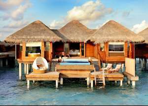 Deluxe Sunset Ocean Pool Villa, Huvafen Fushi , Maldive Island