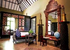 Shanghyang Nirvana living area, Tugu Lombok, Sire Beach