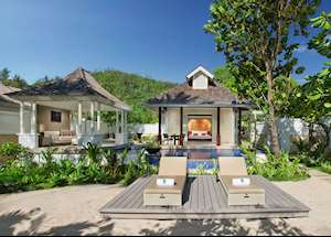 Beachfront Pool Villa, Banyan Tree Seychelles, Mahe